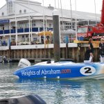 Advanced Fuel Systems provided the fuel cell for the Heights of Abraham powerboat.